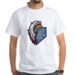 Reno Sparks Indian Police White T-Shirt