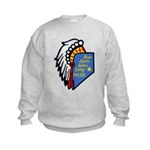Reno Sparks Indian Police Kids Sweatshirt