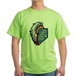 Reno Sparks Indian Police Green T-Shirt