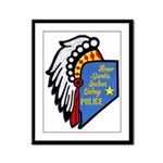 Reno Sparks Indian Police Framed Panel Print