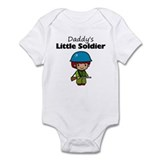 Daddy's Little Soldier Onesie