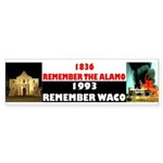 Remember The Alamo Sticker (Bumper 10 pk)