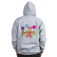 Twilight Girl by Twibaby Zip Hoodie