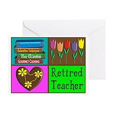 retired teacher Greeting Card