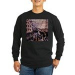 The Boston Tea Party Long Sleeve Dark T-Shirt