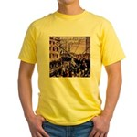 The Boston Tea Party Yellow T-Shirt