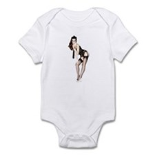 Sexy Pin Up Gal Infant Bodysuit
