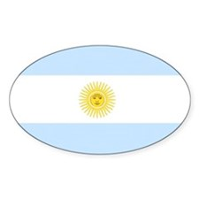 Cool Argentina flag Decal