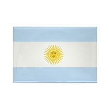 Funny Argentina flag Rectangle Magnet (100 pack)
