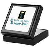 No Longer Silent Keepsake Box