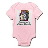 Grandpa's Chess Buddy Infant Bodysuit