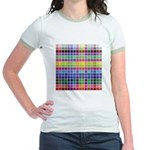256 Colors Jr. Ringer T-Shirt