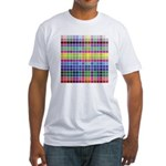 256 Colors Fitted T-Shirt