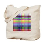 256 Colors Tote Bag