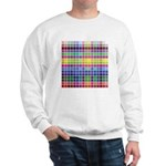256 Colors Sweatshirt