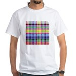 256 Colors White T-Shirt