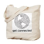 Get Connected Tote Bag