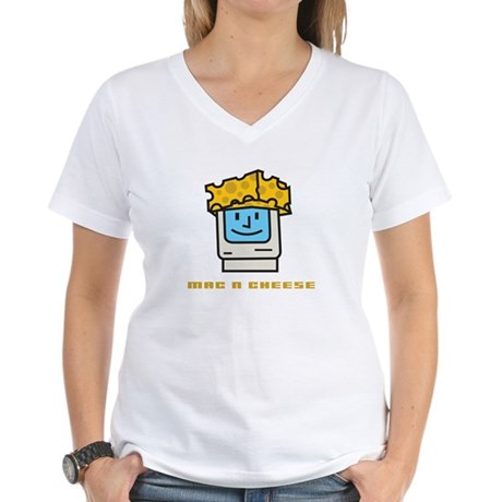 Mac n Cheese Women's V-Neck T-Shirt