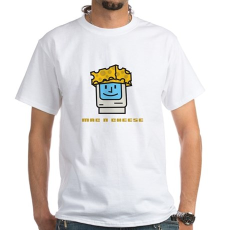 Mac n Cheese White T-Shirt