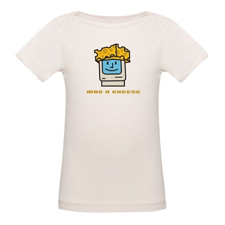 Mac n Cheese Organic Baby T-Shirt