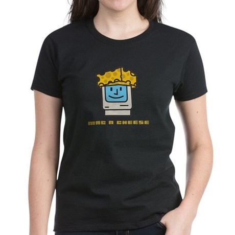 Mac n Cheese Women's Dark T-Shirt