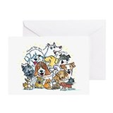 Thank You Dogs & Cats Greeting Card