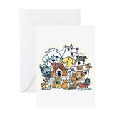 Thank You Dogs &amp; Cats Greeting Card
