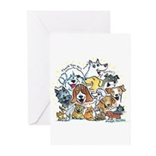 Thank You Dogs & Cats Greeting Cards (Pk of 20)