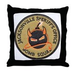 Jacksonville Bomb Squad Throw Pillow