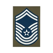 CMSgt Pre-1992 Stripes 4th Rectangle Magnet
