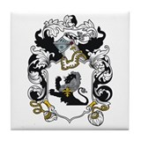 Marvin Coat of Arms Tile Coaster