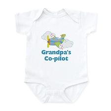Grandpa's Co-pilot Boy's Onesie