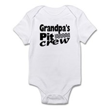 Grandpa's Pit Crew Infant Bodysuit