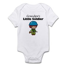 Grandpa's Little Soldier Infant Bodysuit