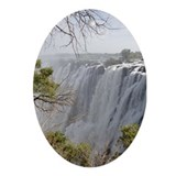 Victoria Falls Ornament (Oval)