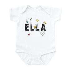 Ella Floral Infant Bodysuit