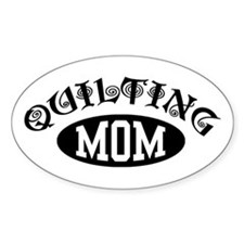 Quilting Mom Decal