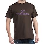 Funny knitting Dark T-Shirt