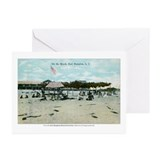 """On the Beach"" Greeting Cards (Set of 10"