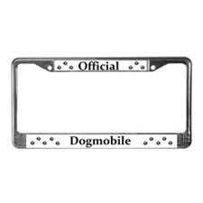Official DogMobile License Plate Frame