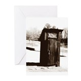 Outhouse Greeting Cards (Pk of 10)