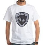 Hudson County K9 White T-Shirt