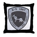 Hudson County K9 Throw Pillow
