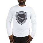 Hudson County K9 Long Sleeve T-Shirt