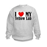 I Love My Yellow Lab Sweatshirt