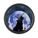 Large Call Of The Wild Wall Clock