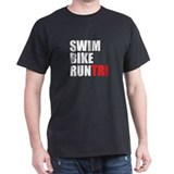 Swim Bike Run Tri T-Shirt