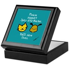 Cute Spay Keepsake Box