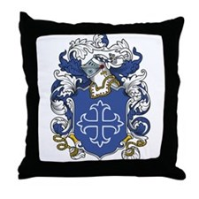 Melton Coat of Arms Throw Pillow
