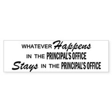 Whatever Happens - Principal's Office Bumper Sticker